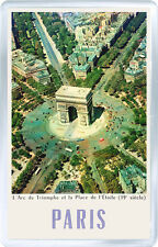 PARIS VINTAGE FRIDGE MAGNET SOUVENIR IMAN NEVERA