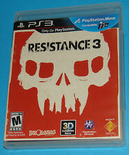 Resistance 3 - Sony Playstation 3 PS3 - USA