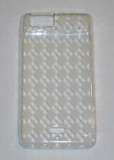 TPU Soft Gel Skin Case For Motorola Droid X MB810 White / Clear