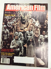 American Film Magazine Excalibur Robert De Niro March 1981 040517nonr