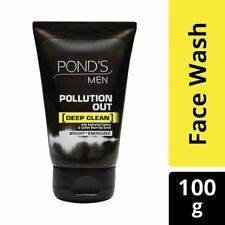 Pond's Men Pollution Out Face Wash, 100g + Free Shipping