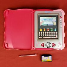 Pink Vtech VReader with Stylus and Disney Princess Cartridge