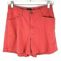 "Lee Women's Jean Shorts 6P Coral Waist 29"" Stretch High Waist   *C"