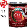 Adult Canned Grain Free Wet Dog Food, Real Beef & Wild-Caught Salmon, 13 oz Cans