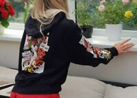 AUTHENTIC NEW W TAGS OFF WHITE c/o Virgil Abloh Floral Hoodie Top RRP£650 size S