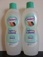 Nenuco Agua De Colonia 600ml x 2  Spanish family Cologne UK STOCK