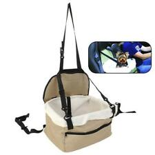 Dog Car Seat Belt Booster Carrier Bag for Pet Cat Puppy Travel Safety, green