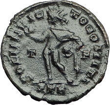 Constantine I the Great  310AD Authentic Ancient Roman Coin  Sol  Sun God i57919