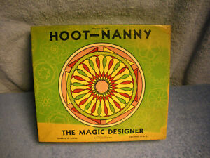 VINTAGE HOOT-NANNY NO. 1 THE MAGIC DESIGNER