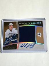 2015-16 UD Ultimate Collection Rookies Jake Virtanen RC Jersey Auto /149!
