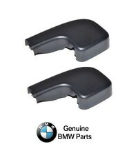 BMW E90 E91 Set Of Left And Right Front Covers For Wiper Arm Nut OE NEW