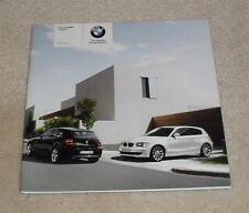 BMW SERIE 1 prezzo GUIDA BROCHURE 2007 116i 120i 118d 120d Inc SPORT se