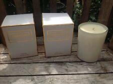 Lot of 2 Elizabeth and James NIRVANA Peony White scented Candles ~ 10 oz ea NIB