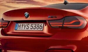 NEW OEM BMW 4 M4 Series f82 LCI LED EU Black Line Tail Lights SET