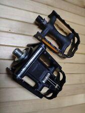 1 Pair Used Original BROMPTON Pedals Folding Pedal Black Color