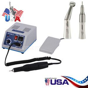 Dental Lab Marathon Electric Micromotor Polishing + 35K RPM Motor Handpiece Kit