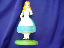 Disney Grolier Premier Ed. Alice In Wondrland Cer. Figurine New In Original Box