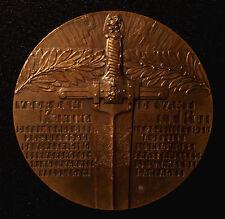 Belgien, große Kriegs-Verdienstmedaille 1930, v. Soete, verliehen an Mr. Hofmans