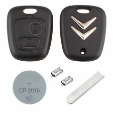 Citroen DIY Repair kit 2 button Replacement Car Key Case Fob with VA2 Blade