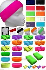 Neon Wristbands Sweatbands Headband and Wrist Bands Neon  Fancy Dress
