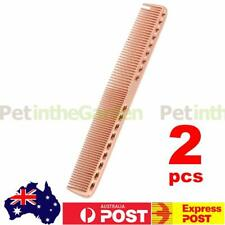 2x Barbers Hairdressing Comb Space Aluminum Hair Cutting Long Comb Anti-Static