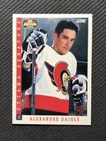 1993-94 SCORE ALEXANDRE DAIGLE TOP ROOKIE SP #496