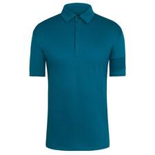 Rapha dunkelblau/grün Essential Polo. Größe Small. Bnwt.