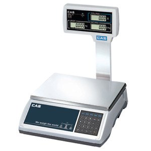 CAS ER Plus Scale 30 Kg with Pole Display