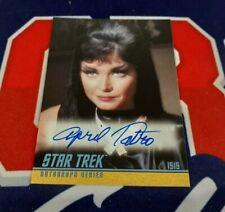 Star Trek TOS Archives & Inscriptions A309 April Tatro Classic Autograph