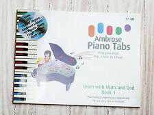 Learn with Mum and DAD. Teach your Kids to Play Piano in Minutes, new col system