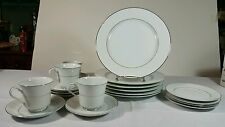 International Silver Co. 364 Wakefield Fine China Dinner Salad Plates Saucer Cup