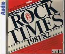 Audio Rock Times Vol. 14 1981-82 CD Various Audiophile