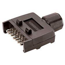 NARVA TRAILER CONNECTOR 82141BL - 7 PIN FLAT PLASTIC PLUG