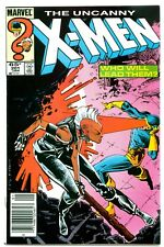 UNCANNY X-MEN #201(1/86)1:NATHAN SUMMERS(CABLE)NEW MUTANTS(NEWSSTAND)CGC IT/HOT!