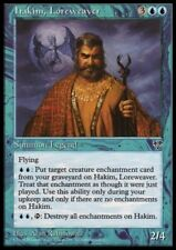 MTG 1x HAKIM, LOREWEAVER - Mirage *Rare Legend Fly NM*