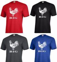 BIG Cock funny Graphic T-shirt Adult tee humor w21
