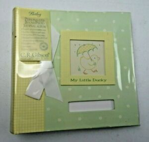 My Little Ducky Picture Photo Album by CR Gibson 100 pages