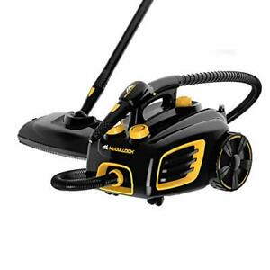 McCulloch MC1375 Canister Steam Cleaner with 20 Accessories Extra-Long Power ...
