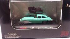 Malibu International 1961 Jaguar E-Type Green 1:87 HO Train Scale NIB