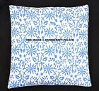 """Indian Floral Block Printed Cushion Cover Pillow Case Throw Home Decor 16 """""""