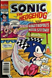 SONIC The HEDGEHOG Comic Book #13 August 1994 KNUCKLES Bagged Boarded NM-