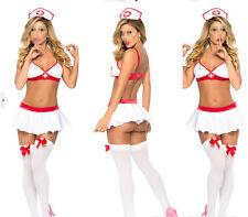 2017 Women's sexy lingerie Nurse Uniform Ladies Cosplay Party Costume Outfit Set