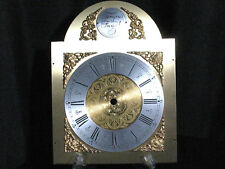 Vintage Clock Face Engraved Brass Cherubs Mantle Grandfather Wall Repair Parts