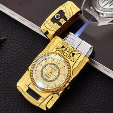 Watch lighter Jet Torch Turbo Windproof Butane Cigar Cigarette Gas Fire Lighter