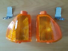 Ford ESCORT MK3 XR3i & Cabrio Blinker Satz li. & re. TURN SIGNAL SET NOS