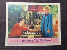 1965 RETURN FROM THE ASHES Original 14x11 Lobby Card #1 VG+ 4.5