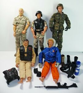 GI JOE LOT Action Figures Five  with Accessories