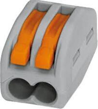 WAGO 222-412     2 WAY PLUGGABLE TERMINAL BLOCK  10off