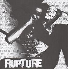 "Brutal Truth / Rupture 7"" lp - new copy - Hardcore - Punk - Grindcore"