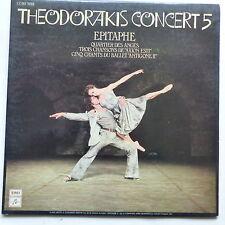 THEODORAKIS Concert 5 Epitaphe 2C068 70258